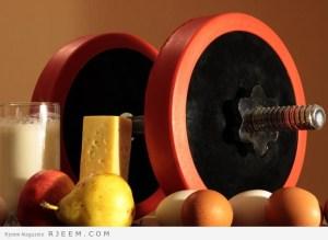 اطعمة تساعد في بناء العضلات