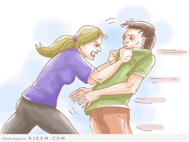 كيف تدافعي عن نفسك اذا تحرش احدهم بك او حاول الاعتداء عليك