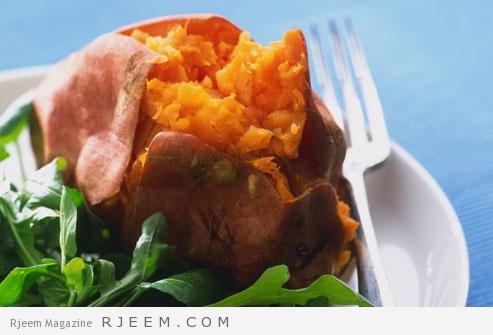 البطاطا الحلوة والرجيم