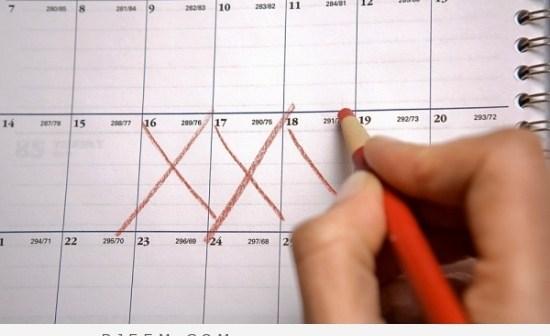 أسباب تأخر الدورة الشهرية