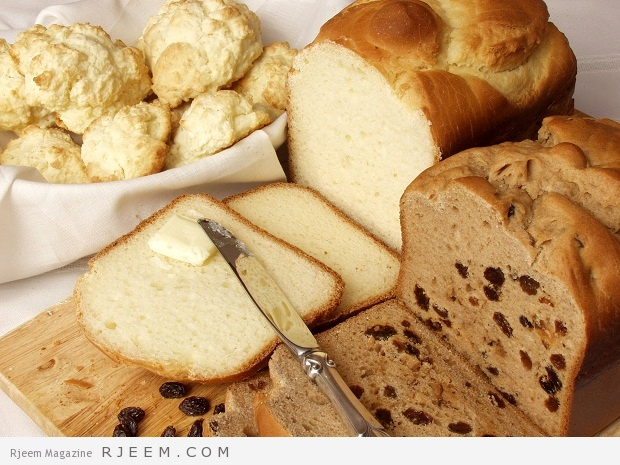 فوائد الخبز الابيض و الاسمر