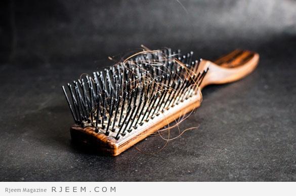 علاجات منزلية لتساقط الشعر - خلطات لعلاج الشعر الخفيف