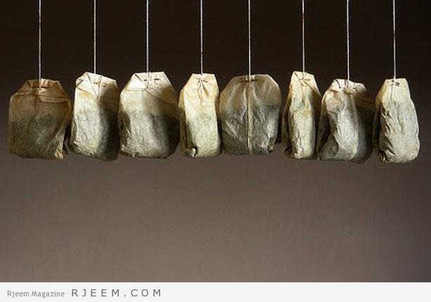 استخدامات اكياس الشاي - فوائد الصحية والجمالية لاكياس الشاي المستعملة
