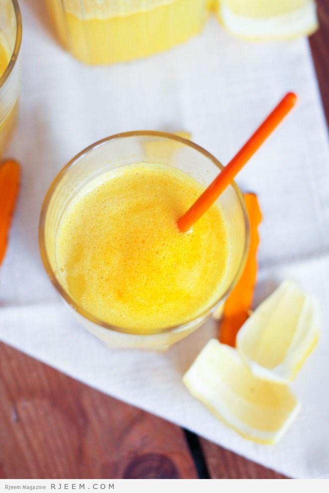 Limonade-curcuma
