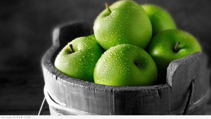 24 فائده لعصير التفاح الاخضر