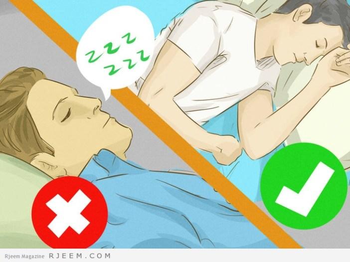 10 طرق طبيعية لعلاج الشخير