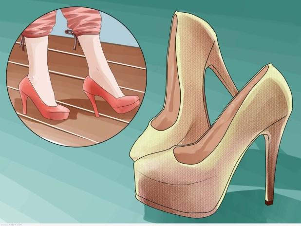 7 نصائح لارتداء الكعب بدون تعب