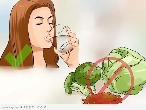 10 اطعمة لعلاج انتفاخ البطن
