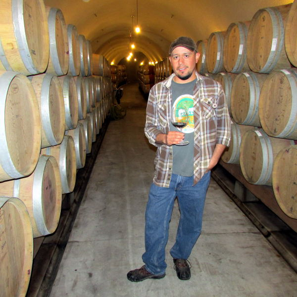Dierberg winemaker Andy Alba
