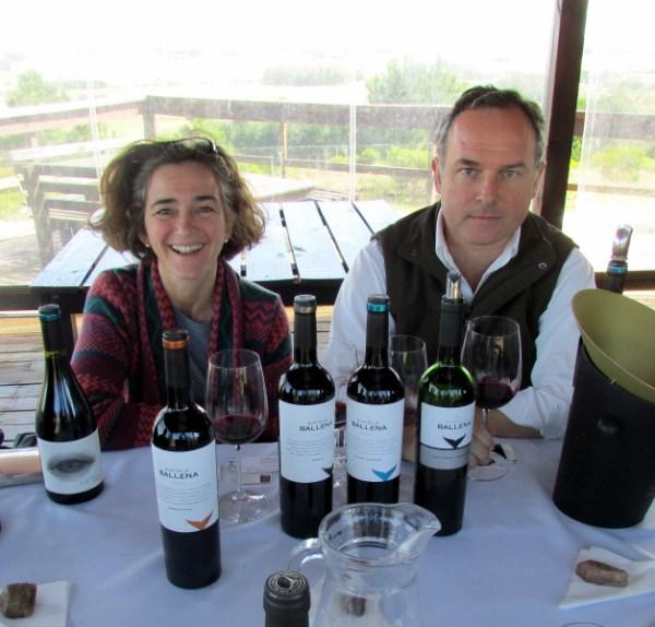 Paula Pivel and Alvaro Lorenzo