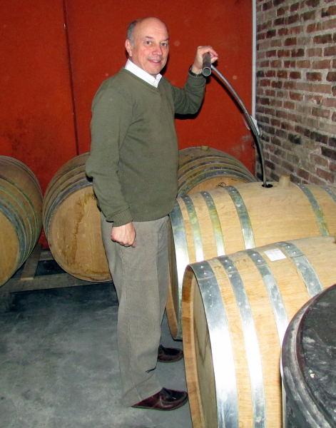 Carrau winemaker Octavio Gioia