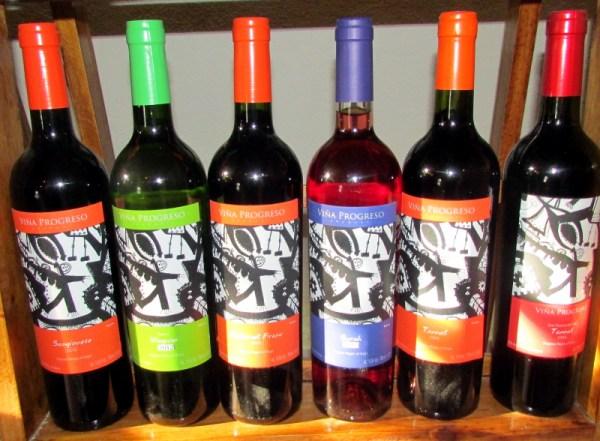 Viña Progreso wines