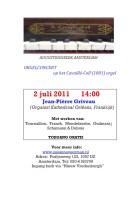 orgelconcert 2 juli
