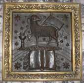 Lam Gods (detail hoogaltaar)
