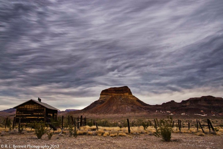Gray Skies over Cerro Castellan