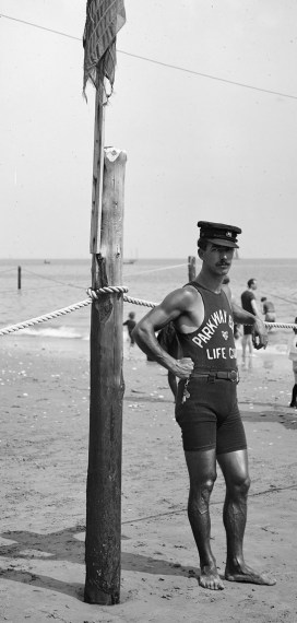 1920's lifeguard
