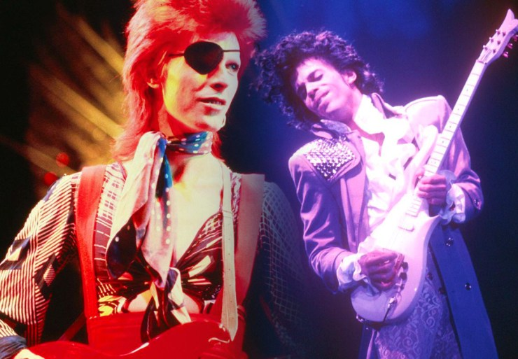 Bowie and Prince