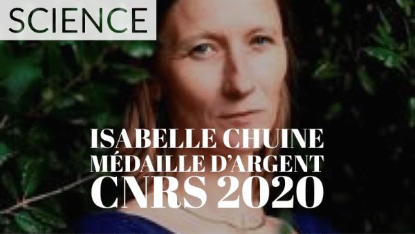 [SCIENCE] Isabelle Chuine, médaille d'argent du CNRS 2020