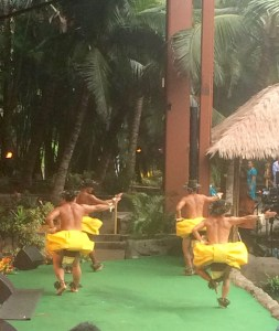 Traditional Hula at the Aloha Luau