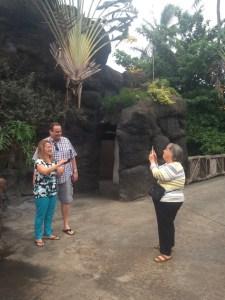 Walking Through the Polynesian Cultural Center