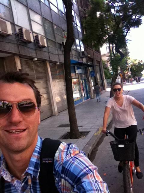 Cruising the city