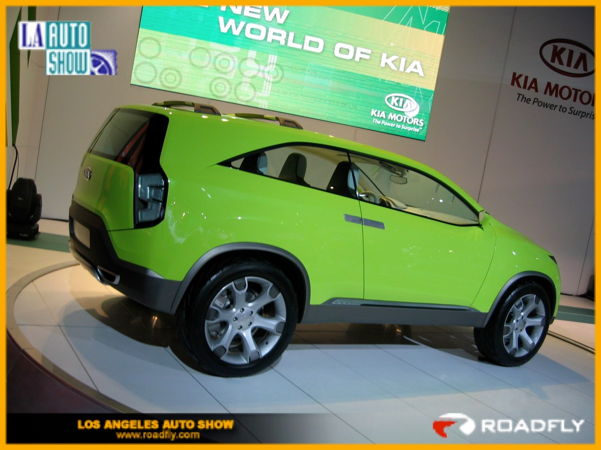 Kia KND-4 Concept SUV:  The Future Is Now