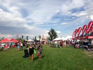 IM Boulder 2013 - Athlete Village
