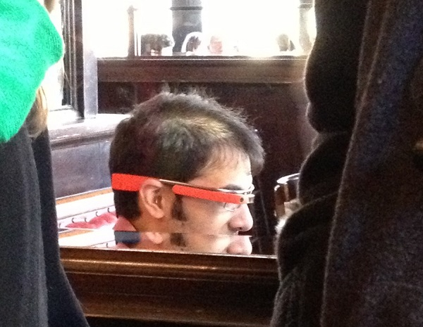 google glass spotted in new york city