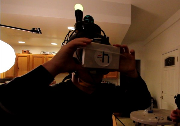 socket head mounted display project holodeck