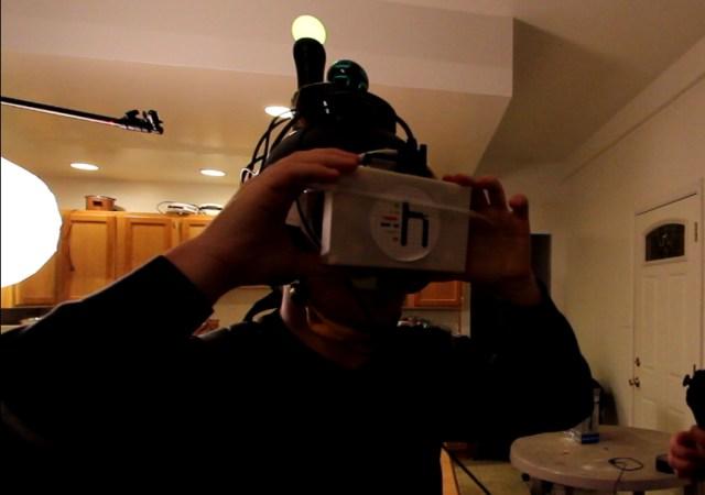 socket head mounted display