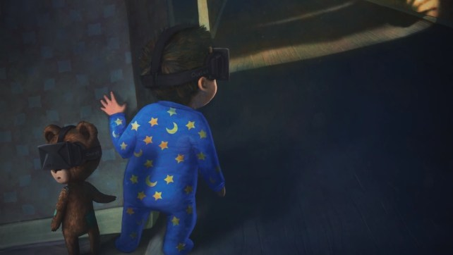 among the sleep oculus rift