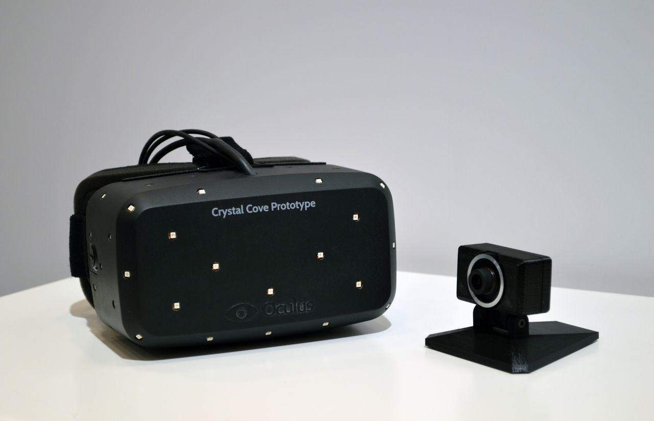 3341a4b762cf The post CES 2014  New Oculus Rift  Crystal Cove  Prototype Revealed.  Positional Tracking