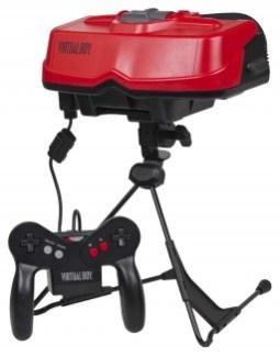 nintendo virtual boy hmd 1995