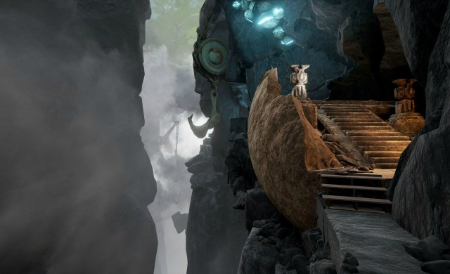 Kaptar Stairs - Obduction E3 Early Access Screen