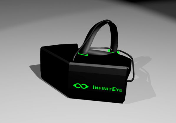 infiniteye head mounted display hmd virtual reality
