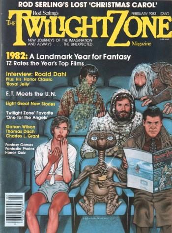 Twilight Zone Magazine (February 1983) Cover