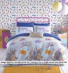 Willy Wonka Golden Ticket Duvet Cover Set