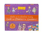 Charlie and the Chocolate Factory Ludo and Snakes & Ladders