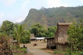 Luba traditional Ngada village