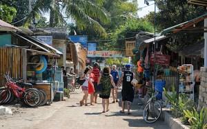 Gili Trawangan village, Indonesia