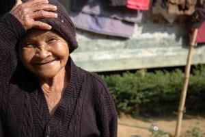 Delightful Sundanese villager