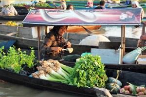 Banjarmasin floating market