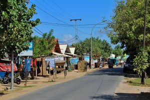The surfing mecca of Kuta Village, South Lombok