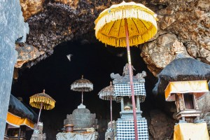 Goa Lawah temple and bat cave, central-east Bali