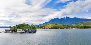Beautiful Lake Sentani near Jayapura, West Papua