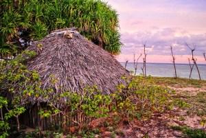 Fishermans hut, Savu islands, Indonesia