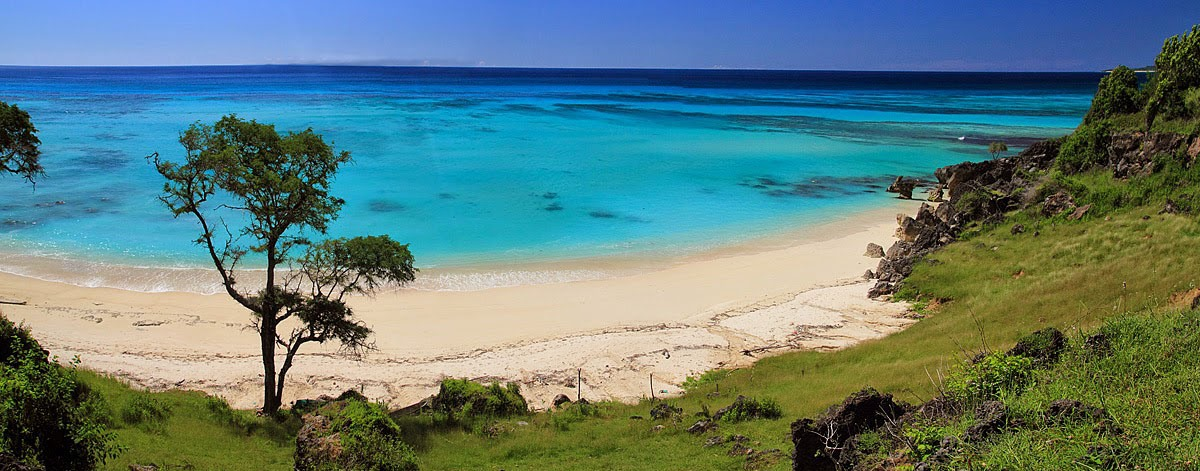 Gorgeous beaches and clear blue water abound on Semau Island