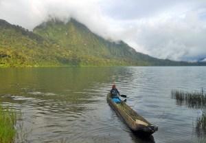 Kerinci lake Tujuh, Sumatra, Indonesia