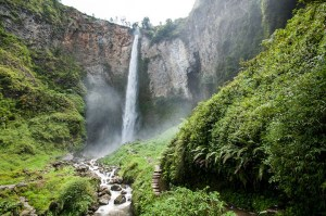 The magnificent Sipisopiso Waterfall