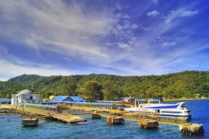 Balohan Port on Weh Island